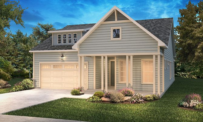 Trilogy Lake Norman Graham Elevation New Farmhouse