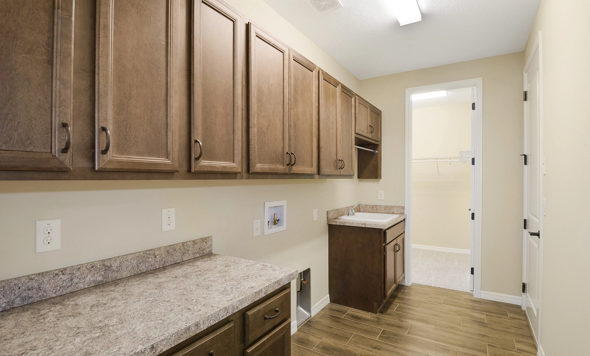 Trilogy at Ocala Preserve Quick Move In Home Refresh Plan Laundry