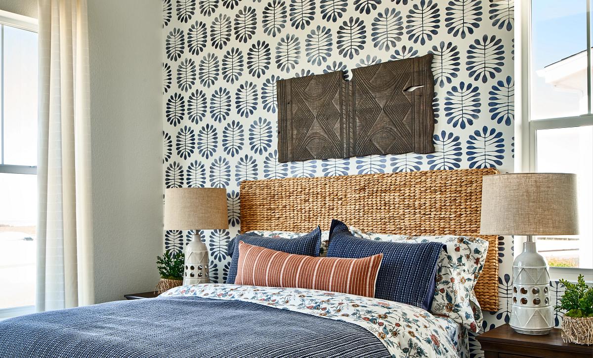 Solstice Horizon Rising Moon Guest Bedroom