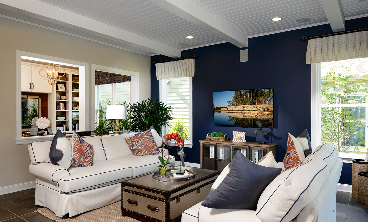 Trilogy Lake Norman Graham Plan Great Room