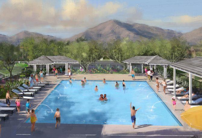Private, Community Pool