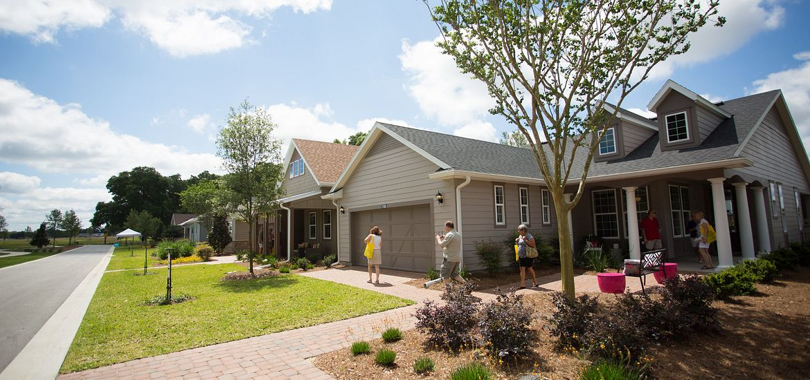 Model Home Gallery located at Trilogy at Ocala Preserve in Florida