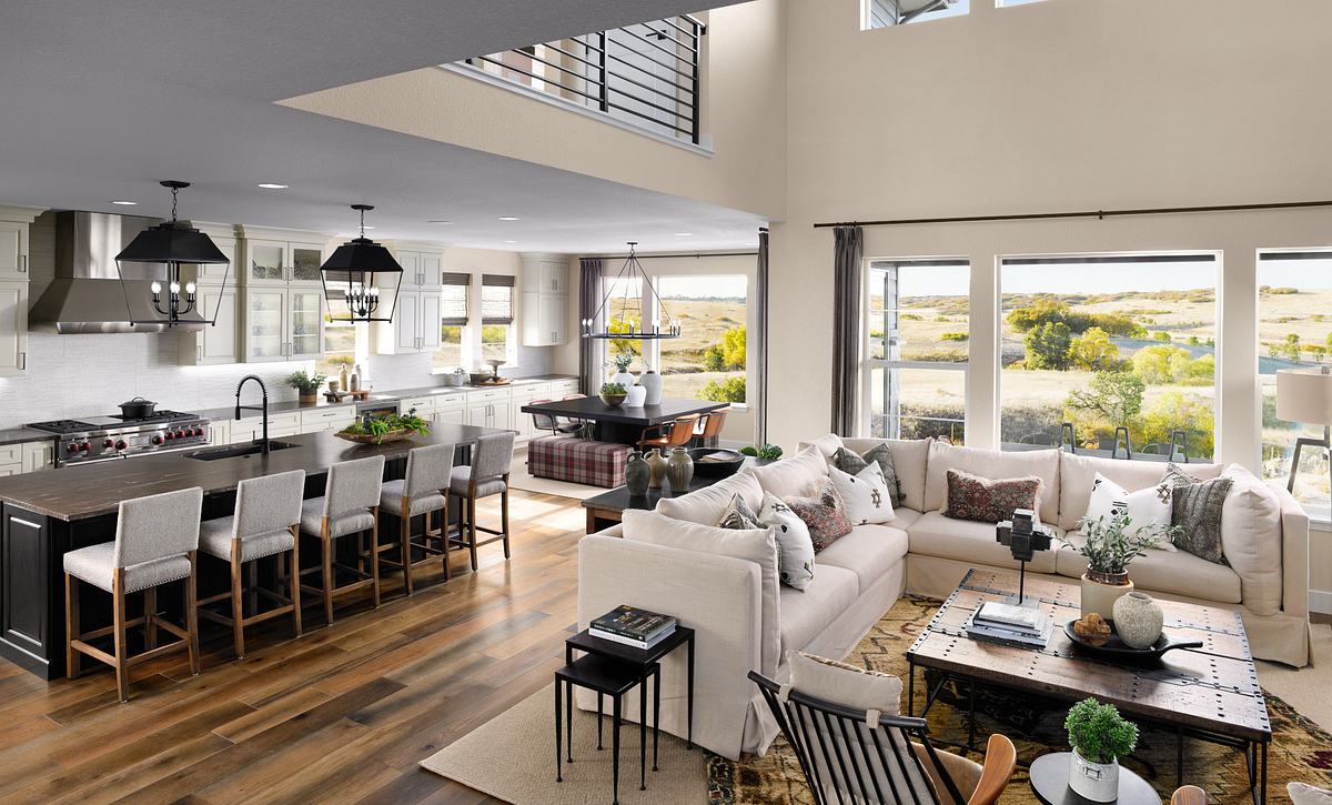 Canyons Luxe Stonehaven Great Room, Kitchen & Dining
