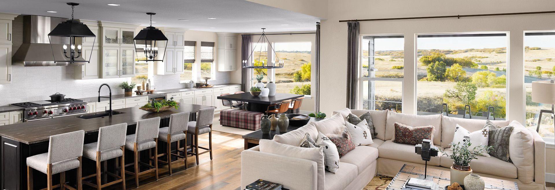 Canyons Luxe Stonehaven Great Room, Kitchen, Dining