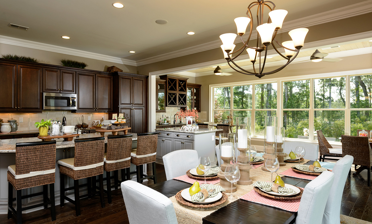 Trilogy Lake Norman Captivate Plan Dining
