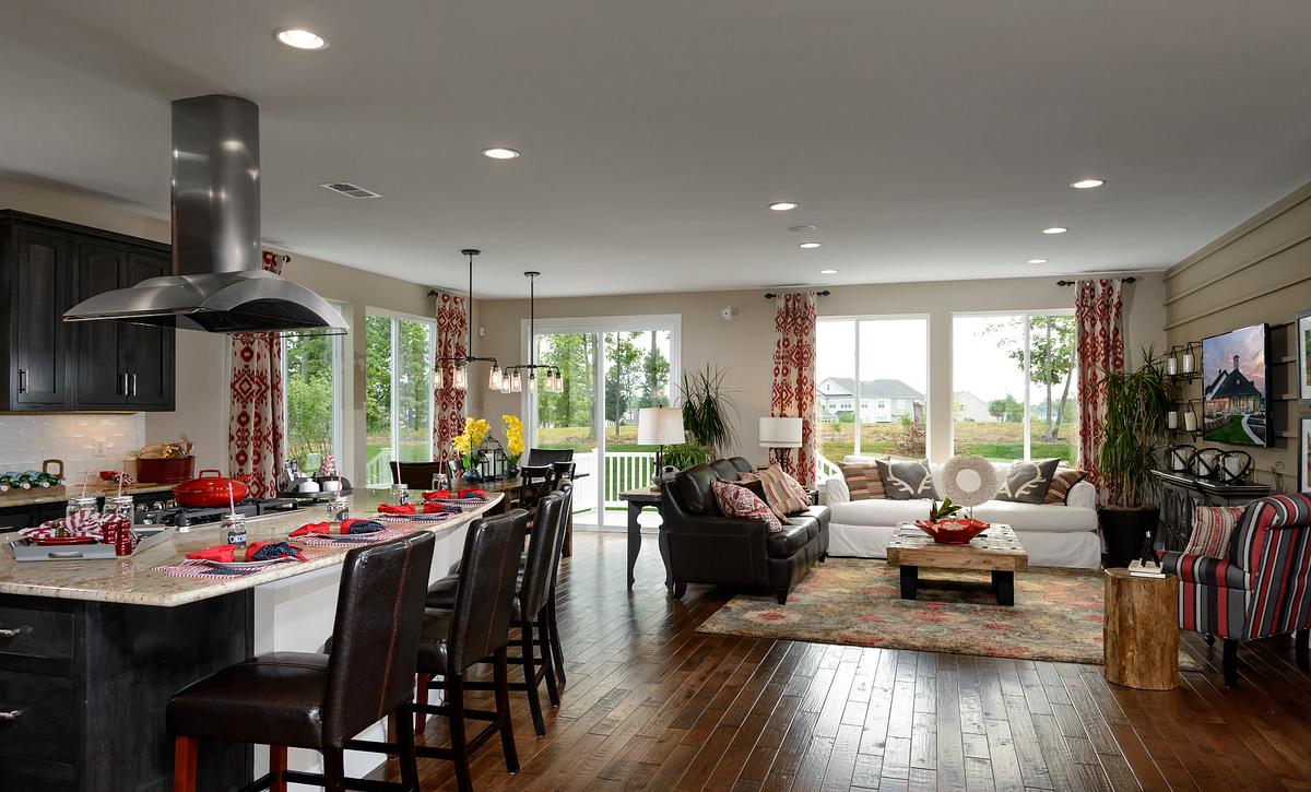 Trilogy at Lake Fredrick Refresh Plan Great Room