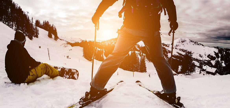 New Years Resolution Ski Slops