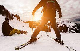 New Years Resolution Ski Slope