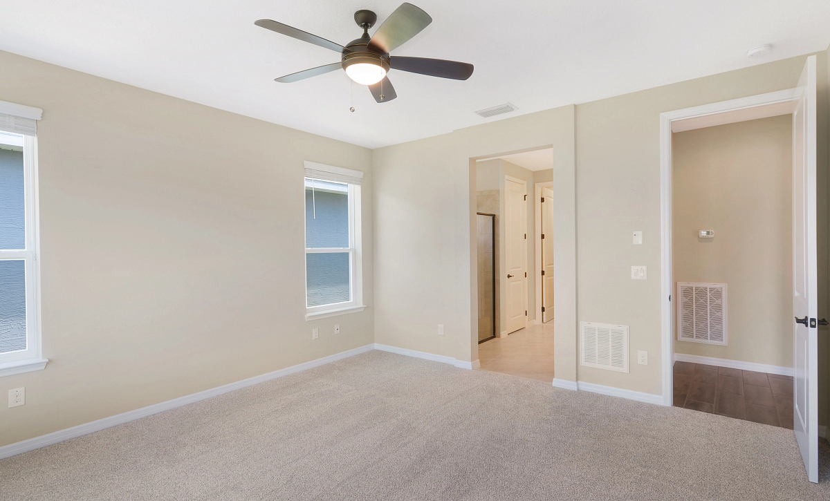 Trilogy at Ocala Preserve Quick Move In Home Refresh Plan Master Bed