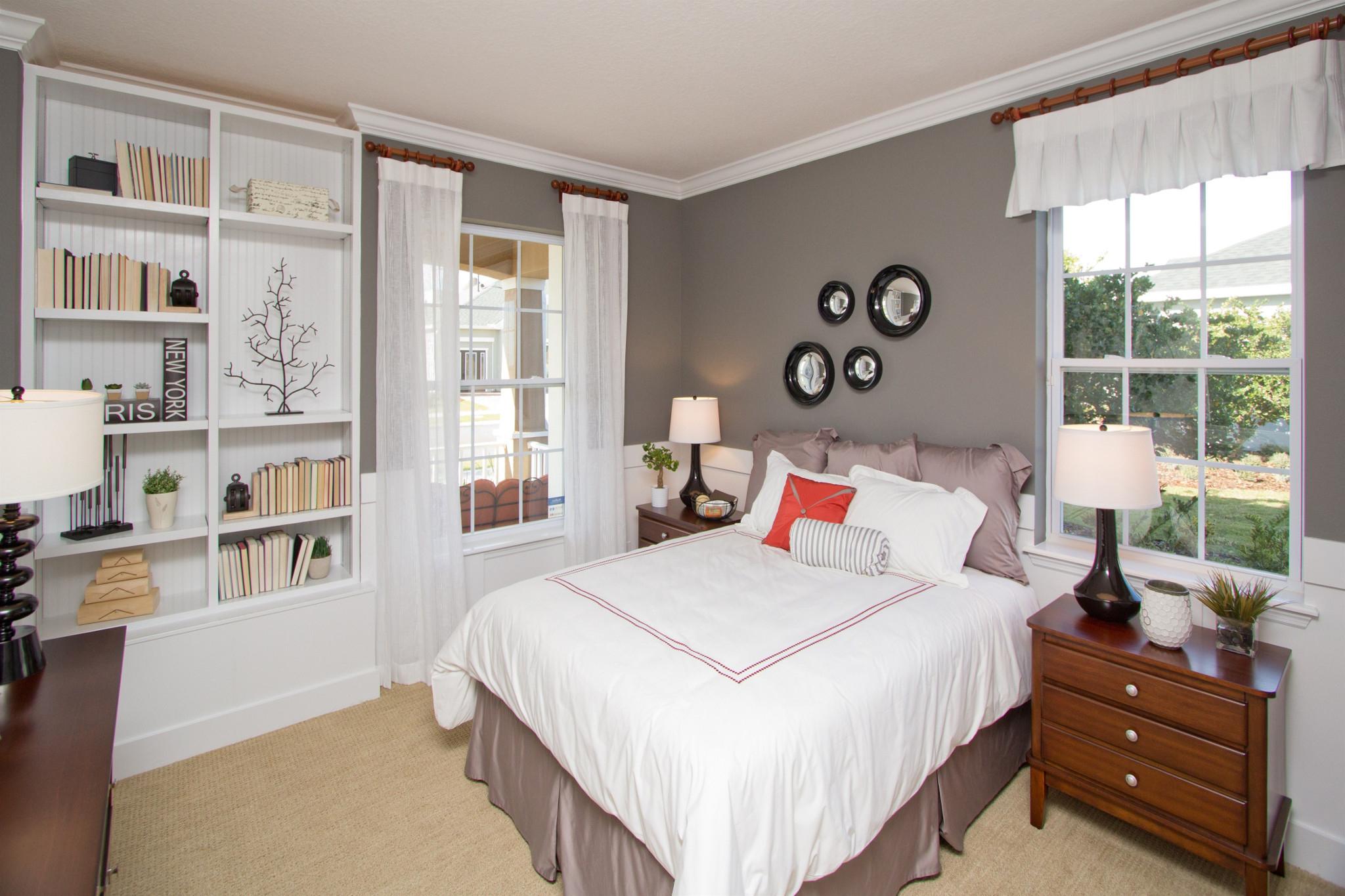 Trilogy Orlando Larkspur Plan Guest Bed