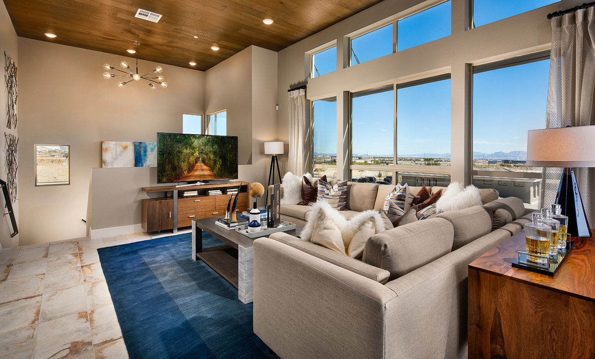 Trilogy in Summerlin Apex Great Room