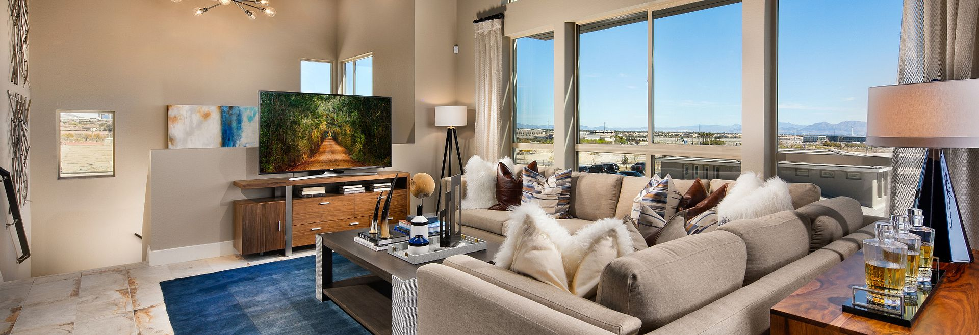 Trilogy Summerlin Apex Great Room