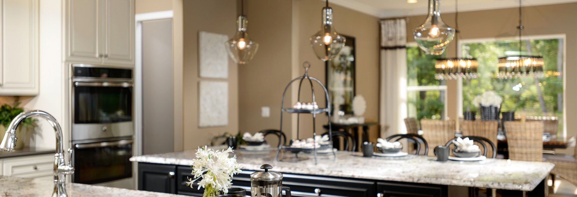 Trilogy at Lake Frederick Model Home the Engage Kitchen