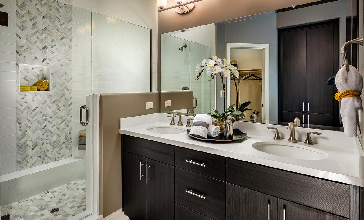 Shea Homes Rice Ranch Sage+ Master Bathroom