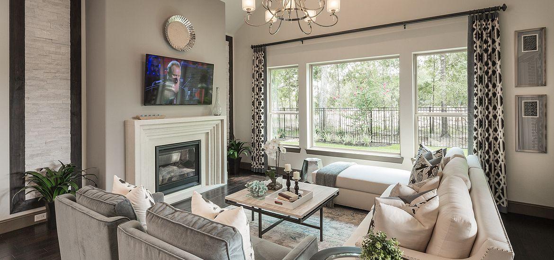 Plan 5128 Living Room