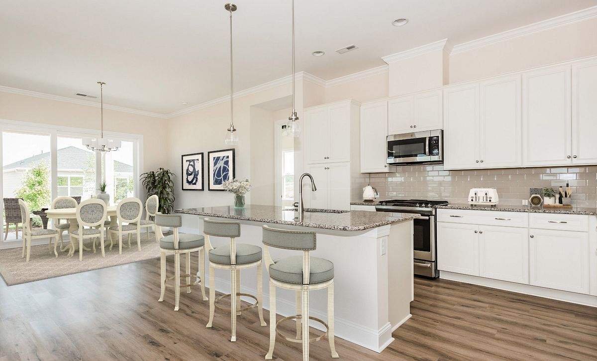 Trilogy Lake Norman Virtually Staged Quick Move In Kitchen