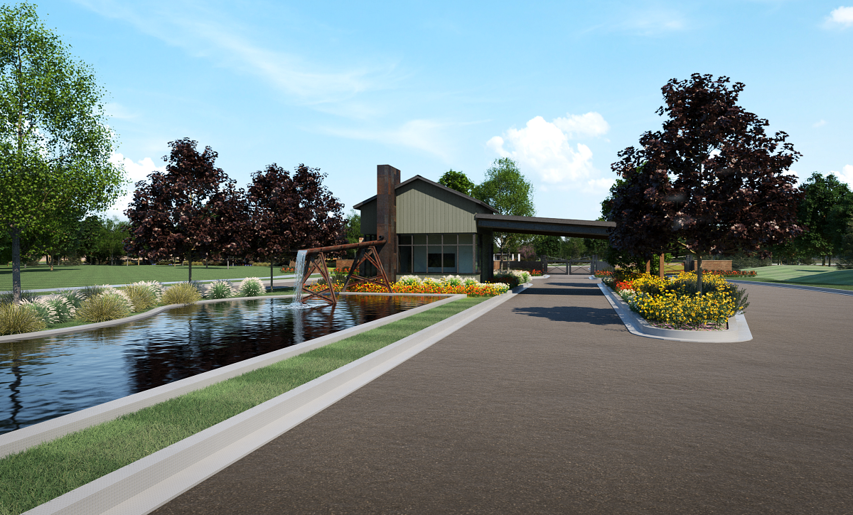 Trilogy Valor Treasure Valley Club Rendering Welcome Center