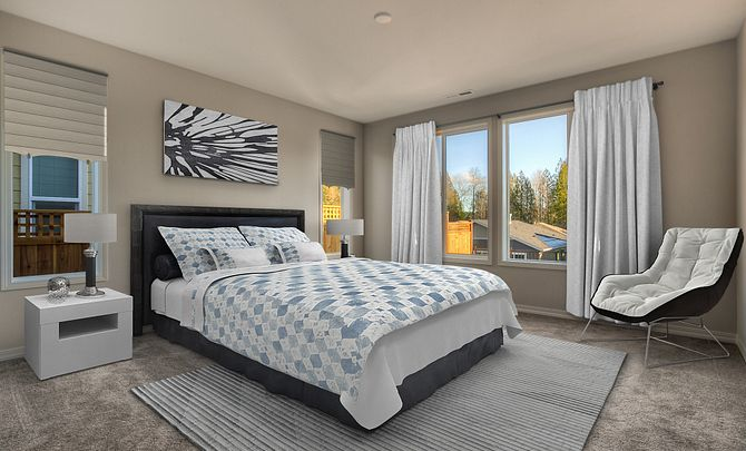 Trilogy Tehaleh Lot 3028 Master Bedroom