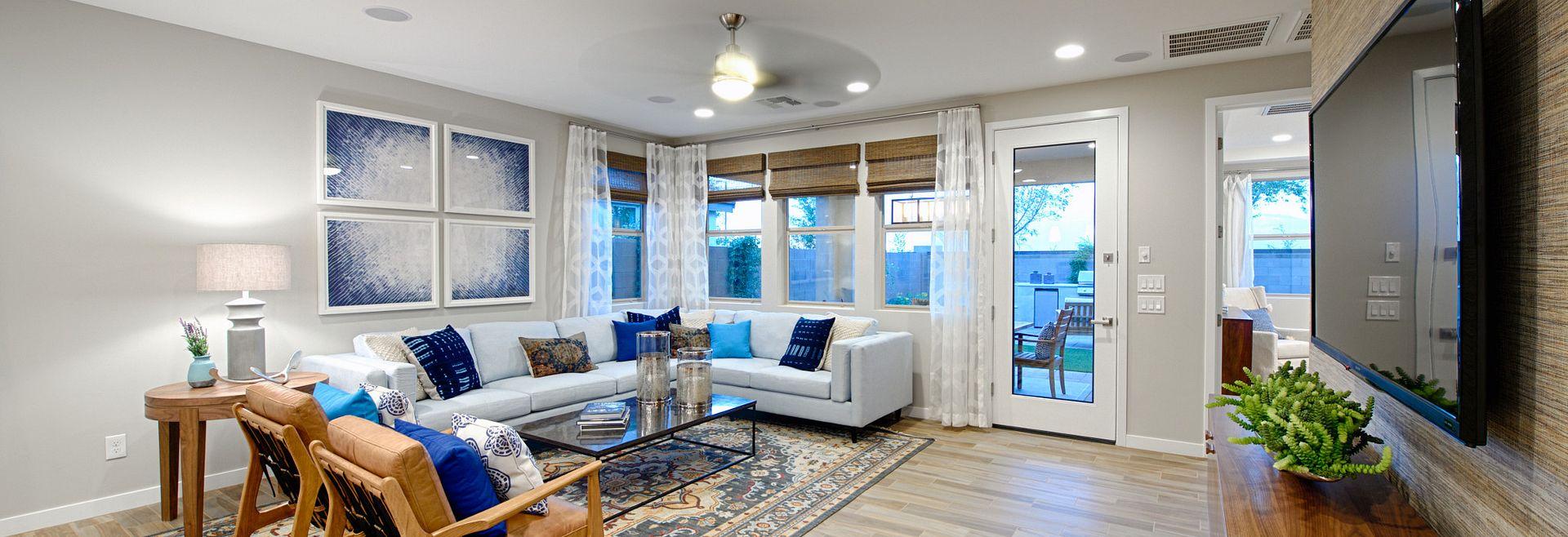 Plan 4012 Living Room