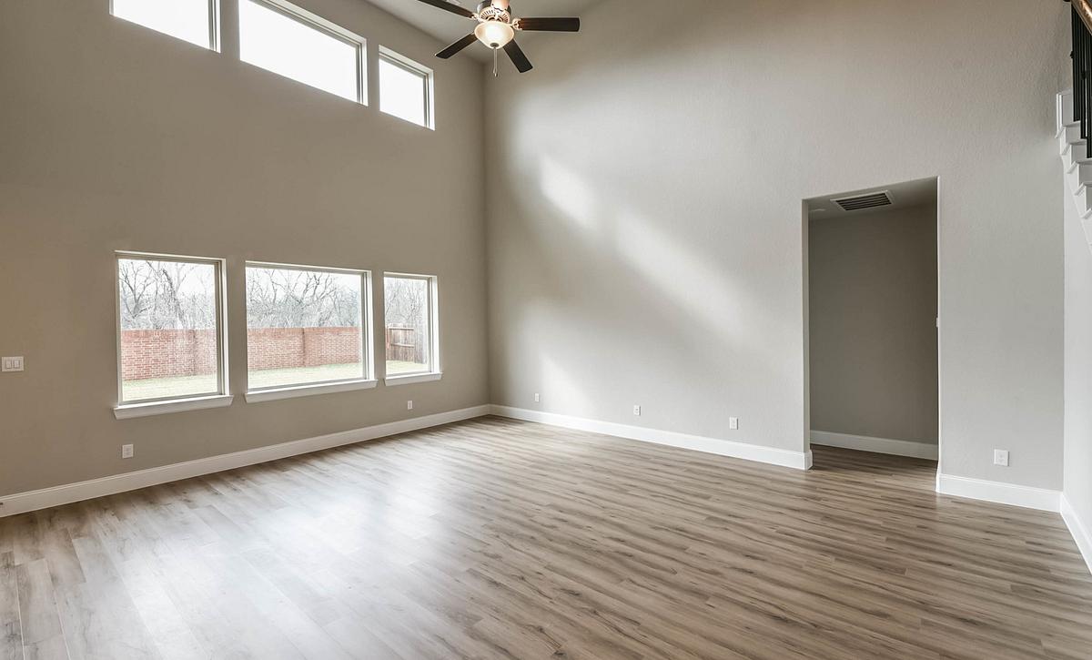 Harper's Preserve Plan 5069 Living Room