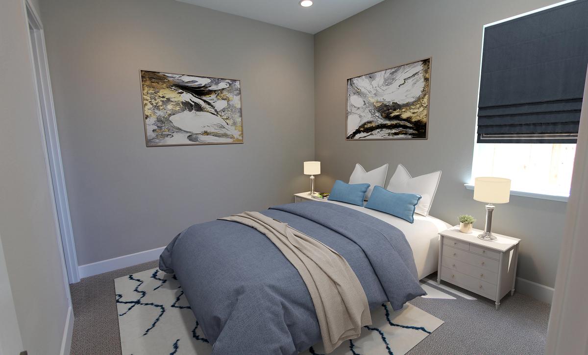 Plan 1 Bedroom Virtual Staging