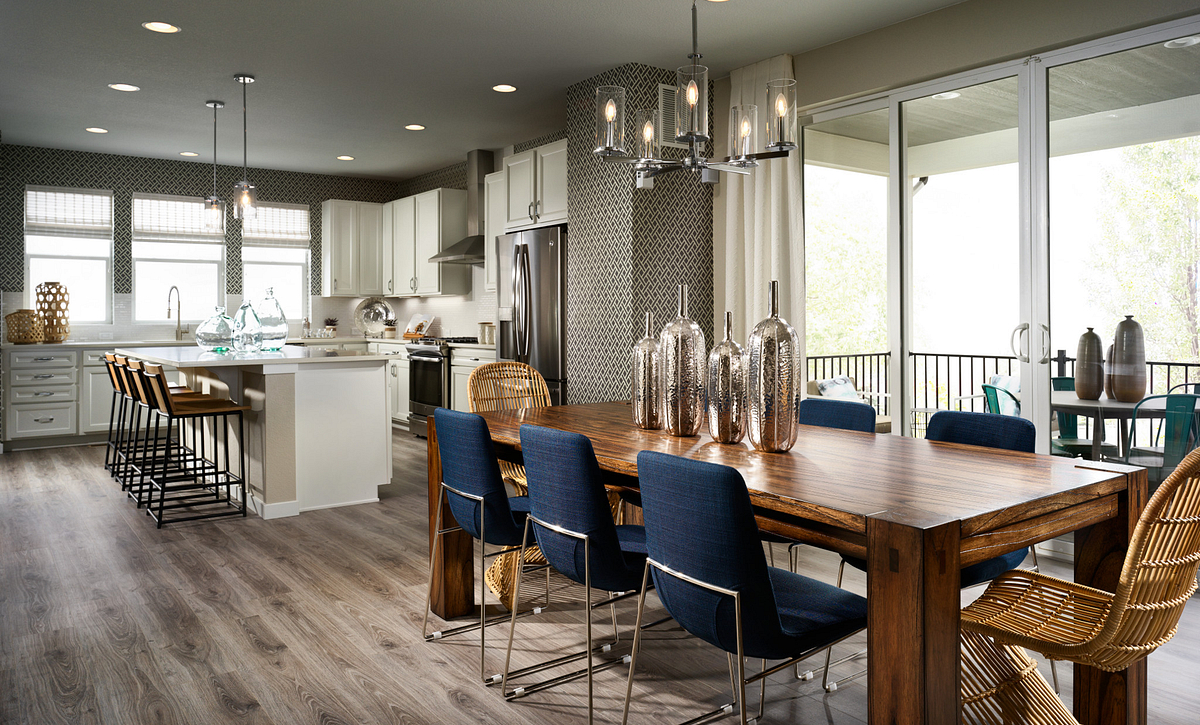 Crescendo at Central Park Plan 2203 Dining and Kitchen
