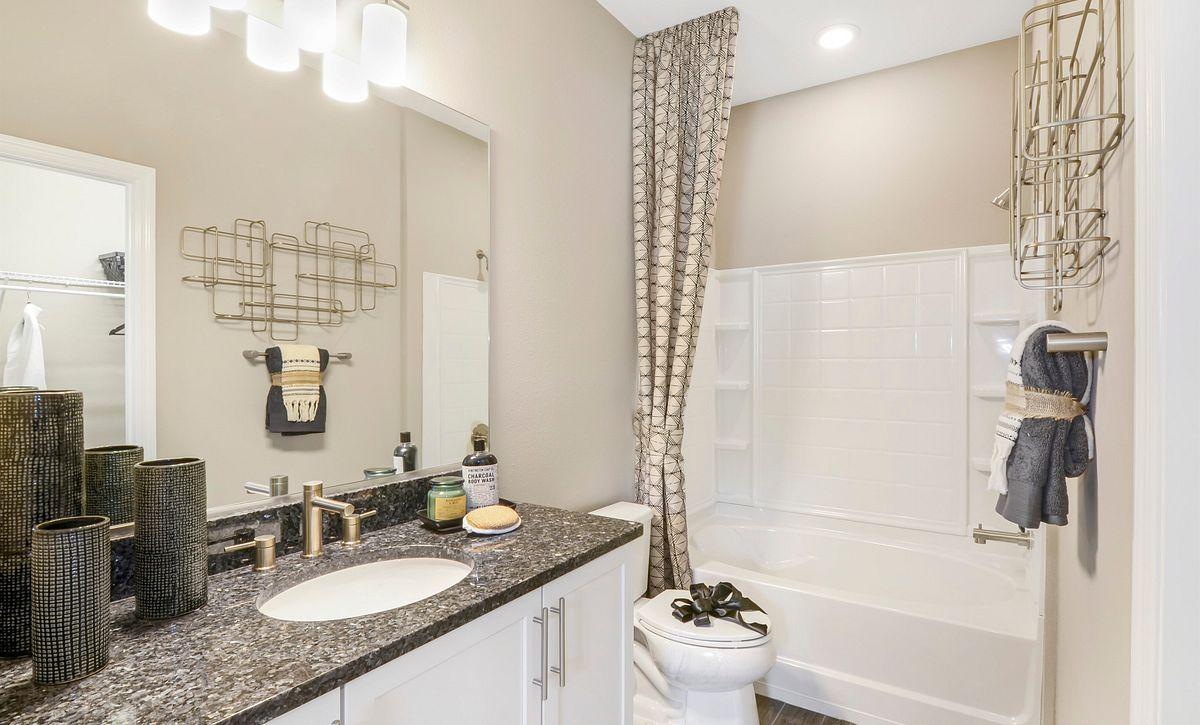 Trilogy at Ocala Preserve Liberty Model Home Guest Bath