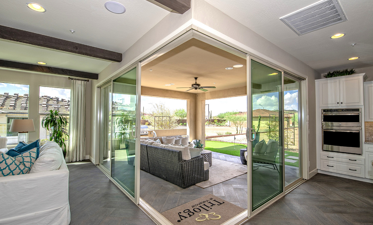 Multi Slide Doors to Patio