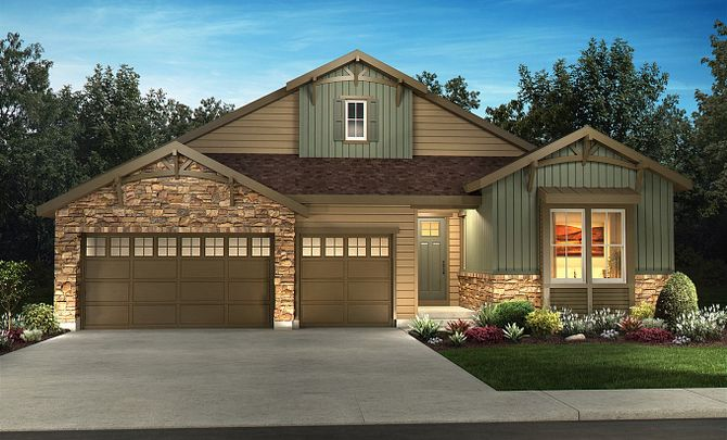 Exterior C: Mountain Craftsman