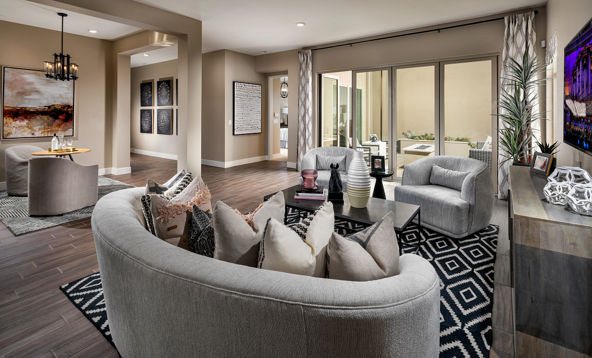 Trilogy Summerlin Luster Great Room