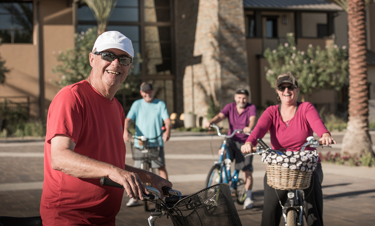 Trilogy Homeowners Biking