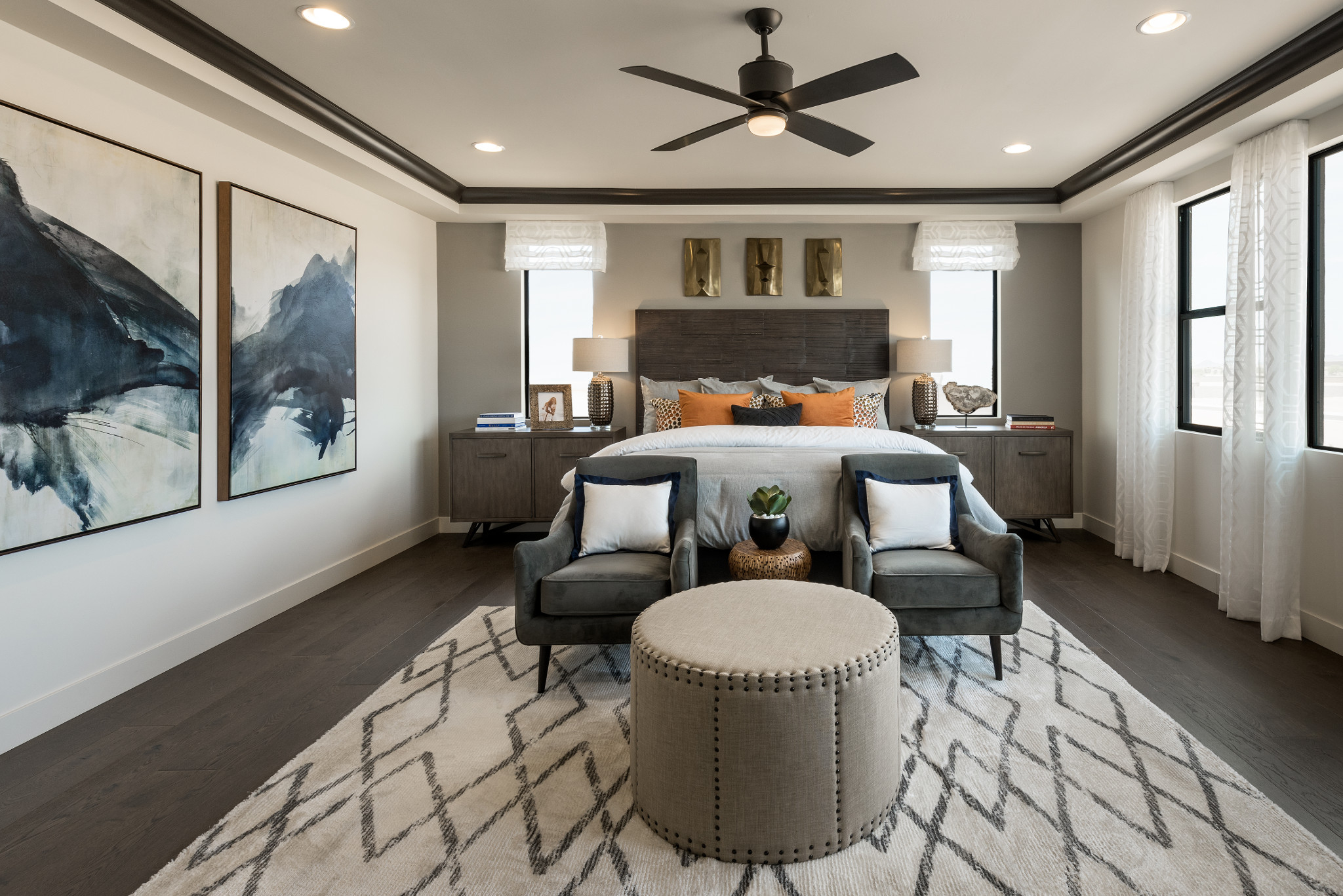 Evolve at Cantilena Thrive Plan 5583 Master Bedroom