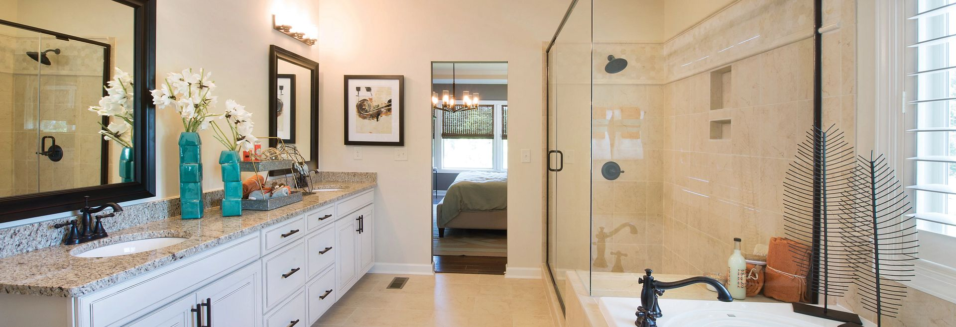 Redwood plan Owner's Bath