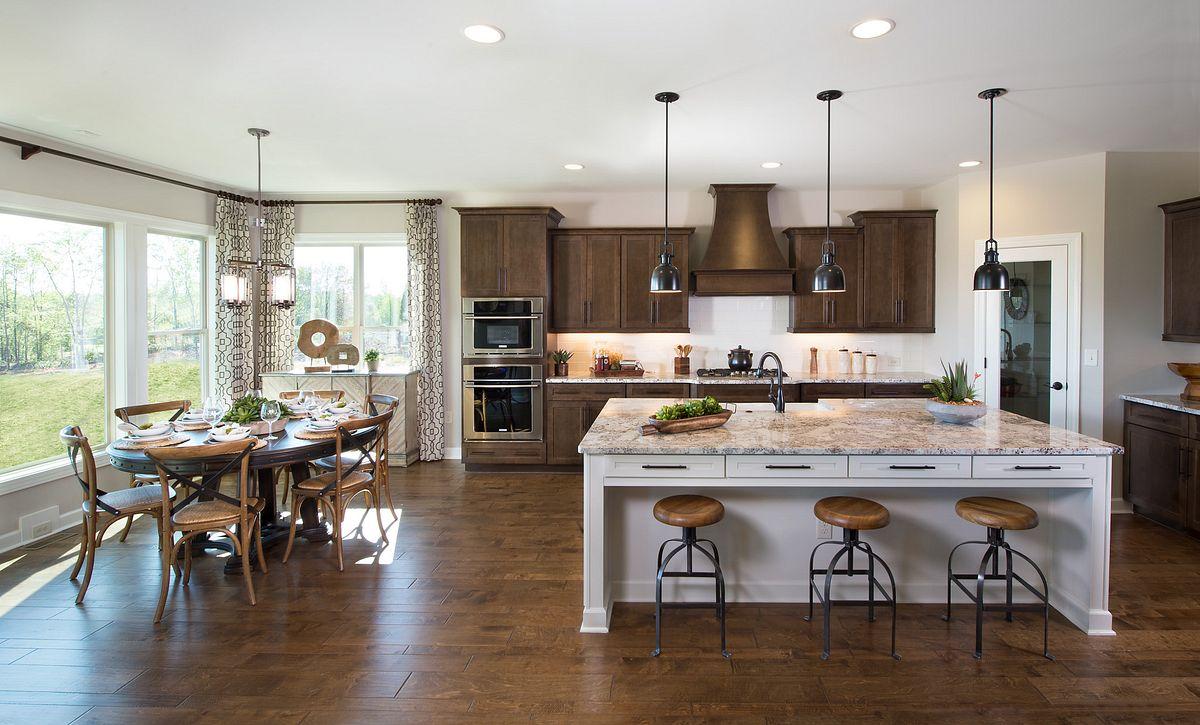 Hampton Plan Kitchen & Morning Room