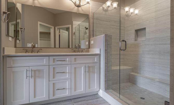 Monarch Ridge Townhome Homesite 44 Acacia+ Master Bath