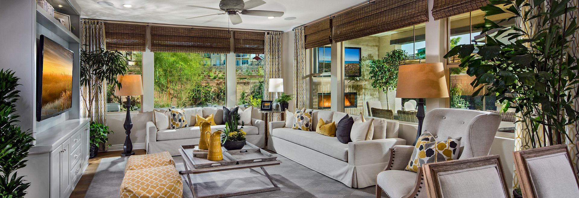 Cortesa Plan 2 Living Room