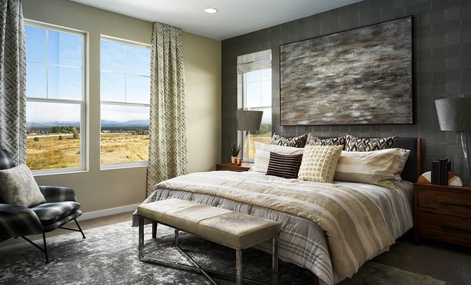 Crescendo at Central Park Plan 2201 Master Bedroom