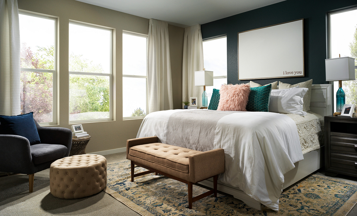 Crescendo at Central Park Plan 2203 Master Bedroom