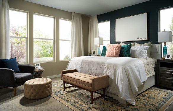 Crescendo at Central Park Plan 2203 Master Bedroom