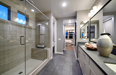 Plan 4014 Master Bathroom