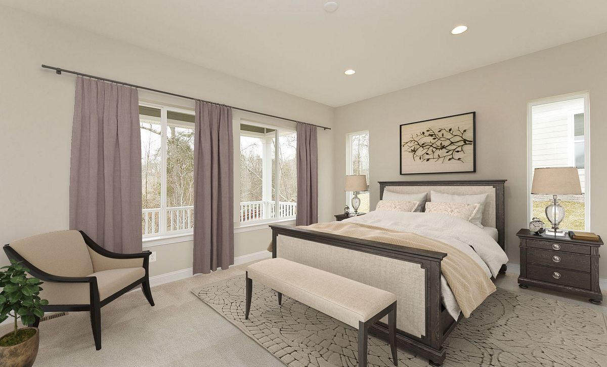 Trilogy at Lake Frederick Quick Move In Homes Virtually Staged