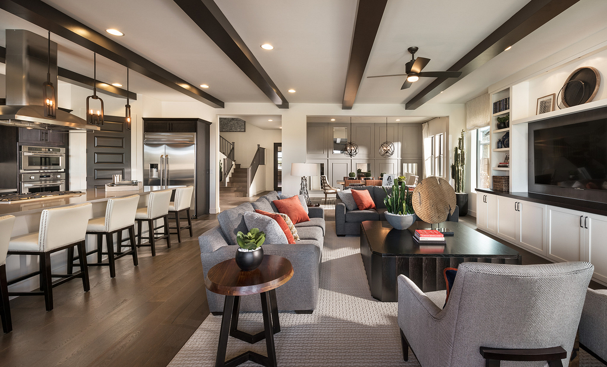 Evolve at Cantilena Thrive Plan 5583 Great Room