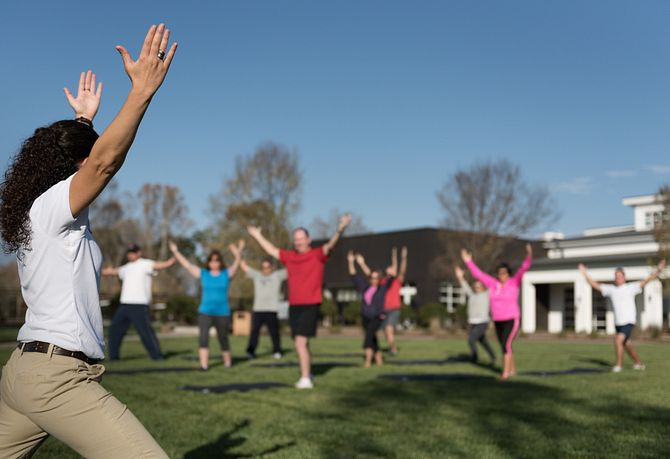Trilogy Lake Norman Group Exercise Class