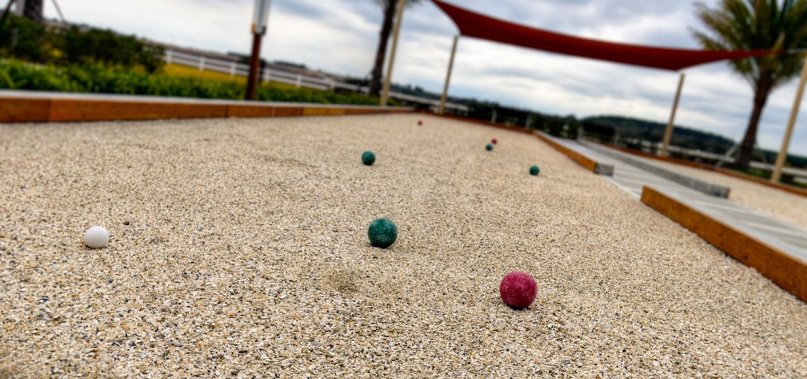 Bocce Court at Trilogy Orlando