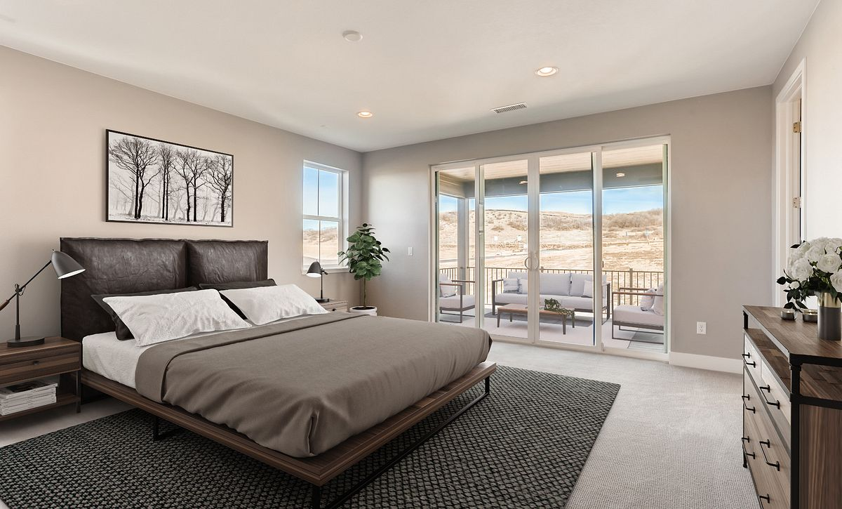Canyons Luxe Stratton Master Bedroom & Deck