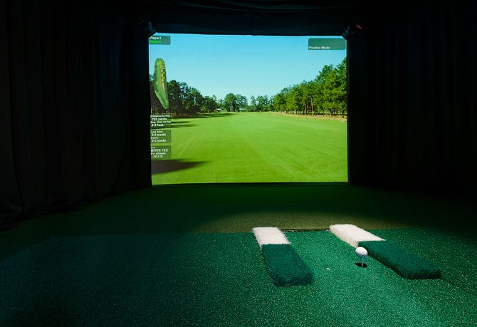 Trilogy Orlando Golf Simulator