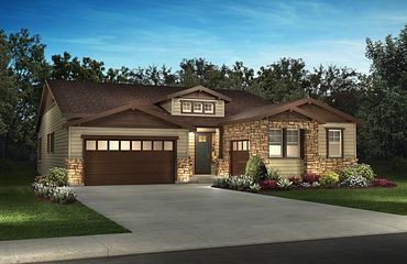 Whispering Pines Woodland Coulter Pine Model Exterior
