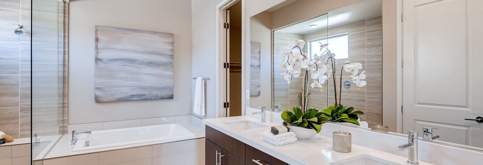 Trilogy Summerlin Luminous Master Bathroom