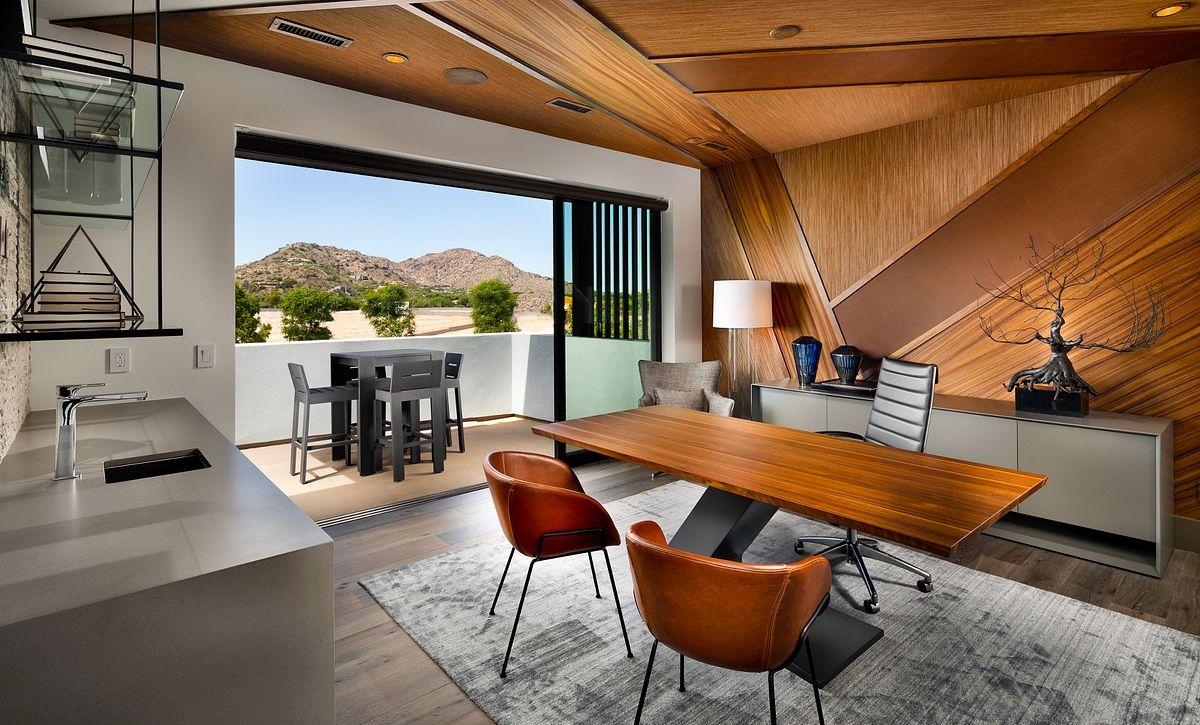 Azure Upstairs Office