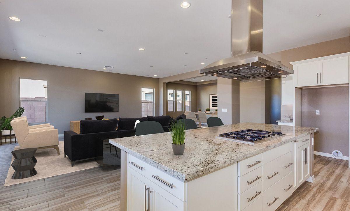 Evolve 6 Kitchen, Great Room